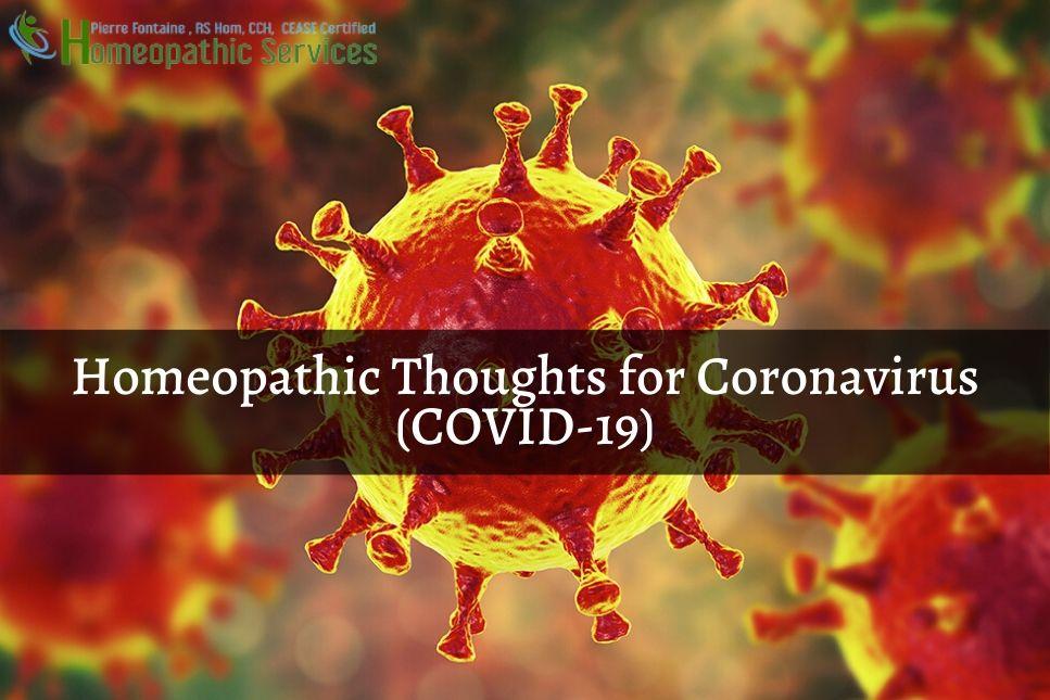 homeopathy for corona virus